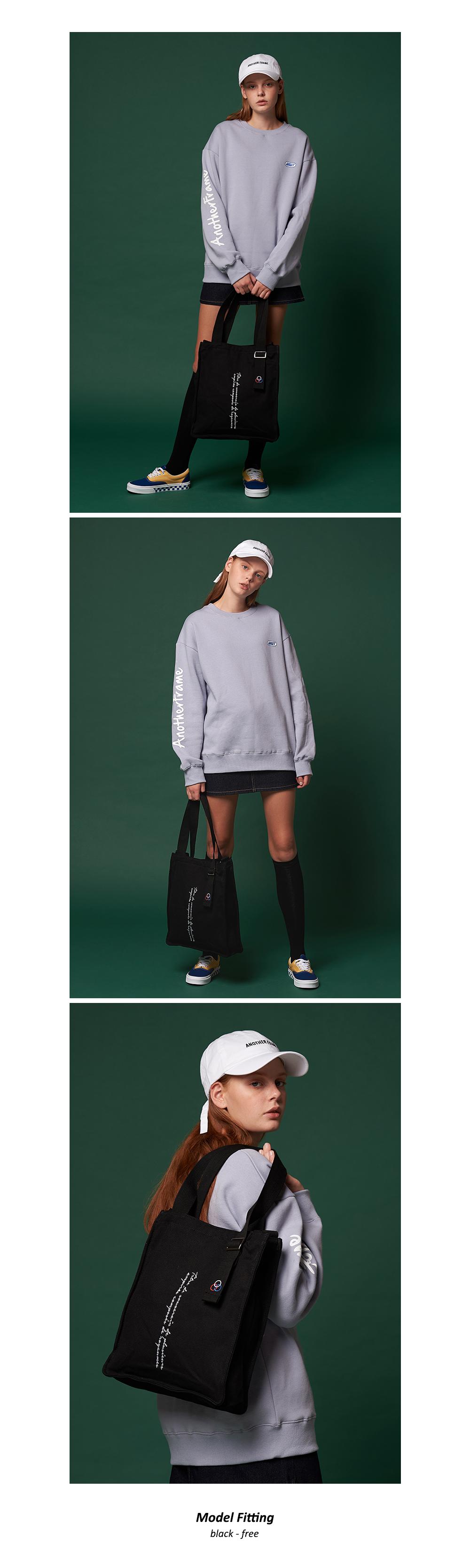 어나더프레임X로아드로아 NEW AH CHOO SHOULDER BAG (BLACK) 숄더백 크로스백 가방