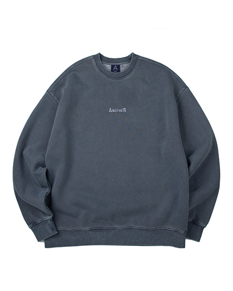 ANOTHER GAP PIGMENT CREWNECK (BLUE)