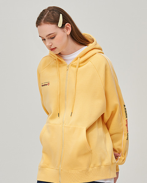 ORIGINAL LINE HOOD ZIP-UP (LEMON)
