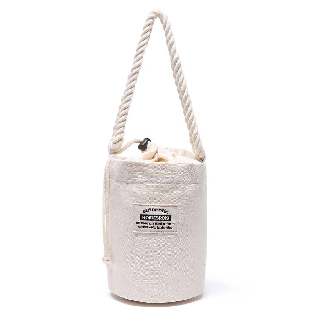 [#아울렛 한정_특가상품]ROPE COTTON SHOULDER BAG (IVORY)